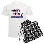 I Want to Dance with Tony Men's Light Pajamas