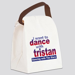 I Want to Dance with Tristan Canvas Lunch Bag