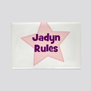 Jadyn Rules Rectangle Magnet