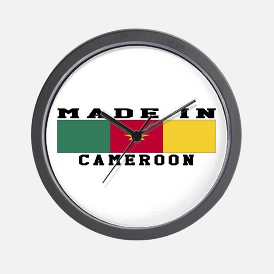 Cameroon Made In Wall Clock