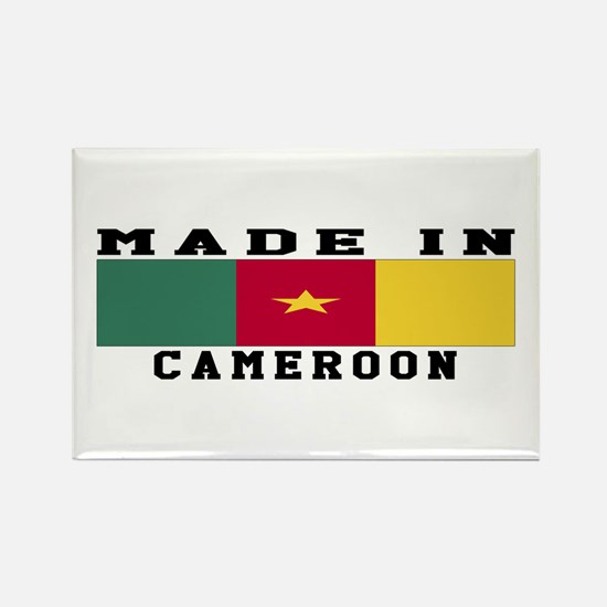 Cameroon Made In Rectangle Magnet
