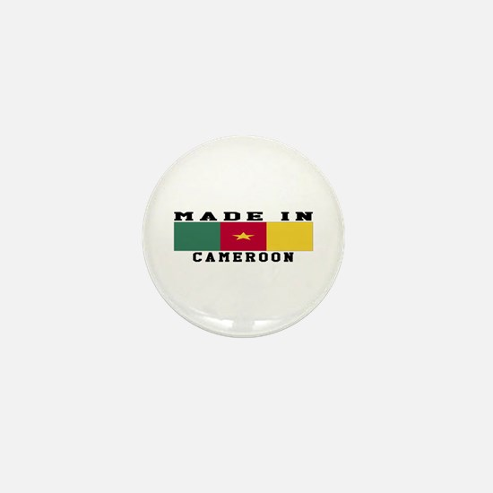 Cameroon Made In Mini Button