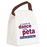 I Want to Dance with Peta Canvas Lunch Bag