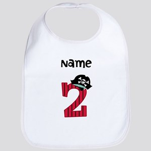 Pirate Second Birthday Bib