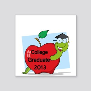 College Graduate 2013 Sticker