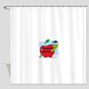 Kindergarten Graduate Shower Curtain