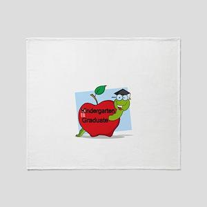 Kindergarten Graduate Throw Blanket