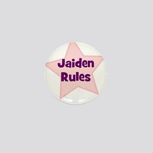 Jaiden Rules Mini Button