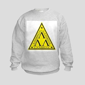 Lambda Lambda Lambda Kids Sweatshirt