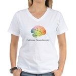 Celebrate Neurodiversity Women's V-Neck T-Shirt