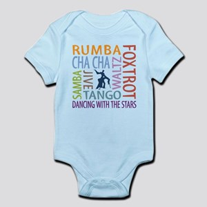 Ballroom Dancing DTWS Infant Bodysuit