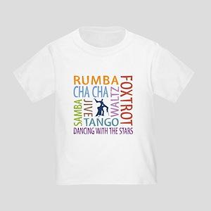 Ballroom Dancing DTWS Toddler T-Shirt