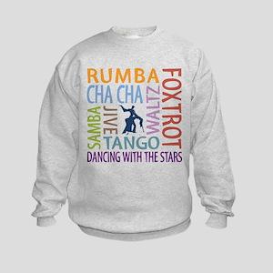 Ballroom Dancing DTWS Kids Sweatshirt