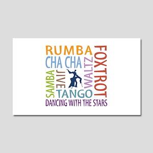 Ballroom Dancing DTWS Car Magnet 20 x 12