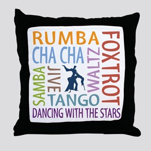 Ballroom Dancing Dtws Throw Pillow