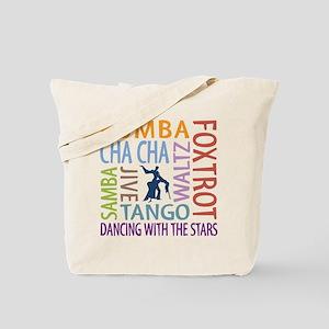 Ballroom Dancing DTWS Tote Bag