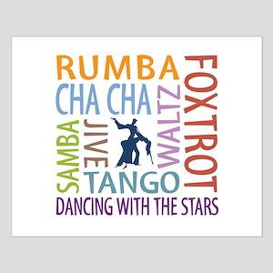 Ballroom Dancing DTWS Small Poster
