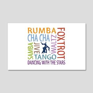 Ballroom Dancing DTWS 20x12 Wall Decal
