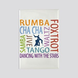 Ballroom Dancing DTWS Rectangle Magnet