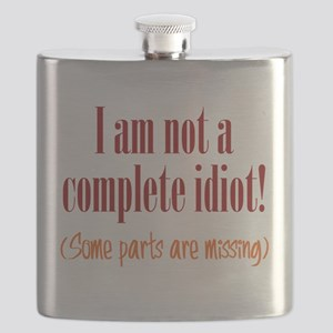 Not a Complete Idiot Flask