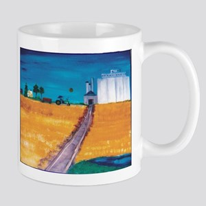 Wheat Fields in Kansas Mug