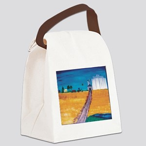 Wheat Fields in Kansas Canvas Lunch Bag