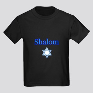 Shalom with Star of David T-Shirt