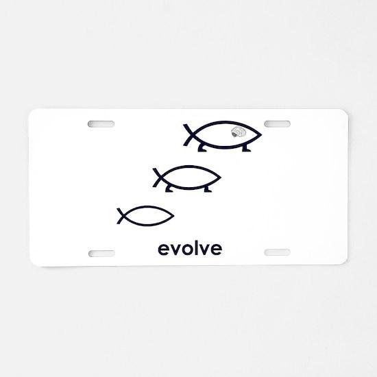Evolve Aluminum License Plate