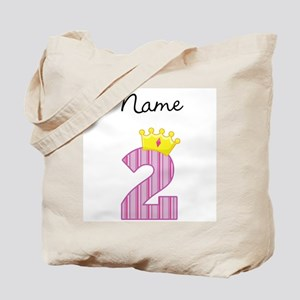 Personalized Princess 2 Tote Bag