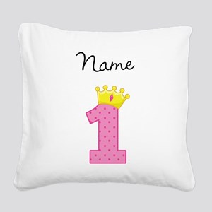 Personalized Princess 1 Pillow