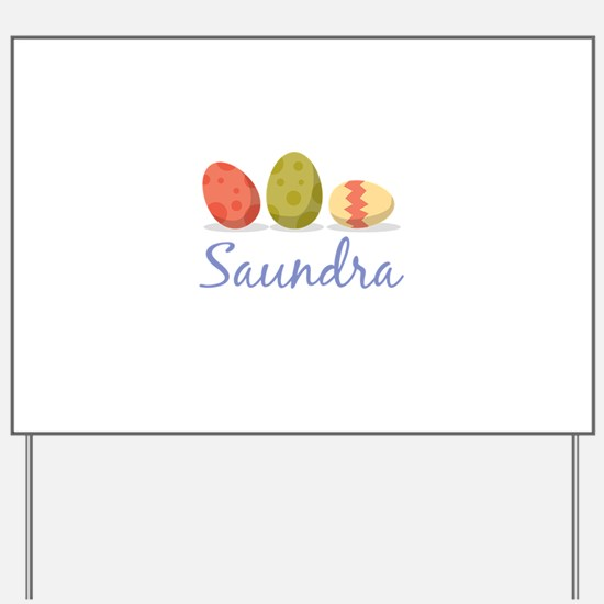 Easter Egg Saundra Yard Sign
