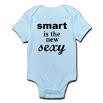 Smart Is The New Sexy Funny Geek Infant Bodysuit
