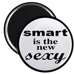 Smart Is The New Sexy Funny Geek Magnet