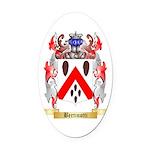 Bertinotti Oval Car Magnet