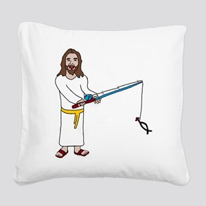 Fishers of Men Square Canvas Pillow