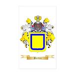 Bertin Sticker (Rectangle 50 pk)