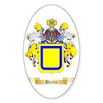 Bertin Sticker (Oval 50 pk)