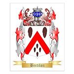 Bertilon Small Poster