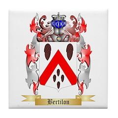 Bertilon Tile Coaster