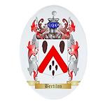 Bertilon Ornament (Oval)