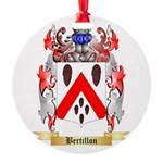 Bertillon Round Ornament