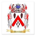 Bertillon Square Car Magnet 3