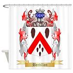 Bertillon Shower Curtain