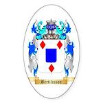 Bertilisson Sticker (Oval 50 pk)