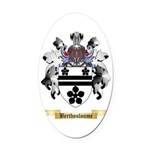 Berthouloume Oval Car Magnet