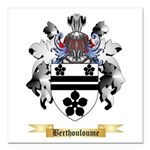 Berthouloume Square Car Magnet 3