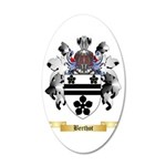 Berthot 35x21 Oval Wall Decal