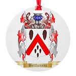 Berthoneau Round Ornament