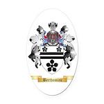 Berthomieu Oval Car Magnet