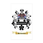 Berthomier Sticker (Rectangle 50 pk)